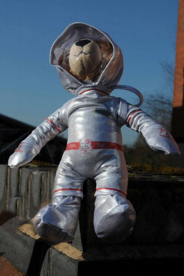 Derek the space teddy