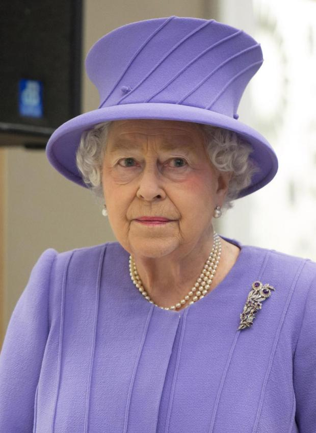 Queen admitted to hospital
