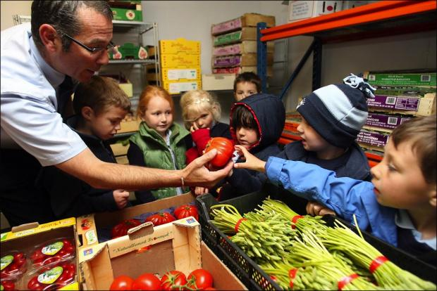 Children to be encouraged to eat healthily.
