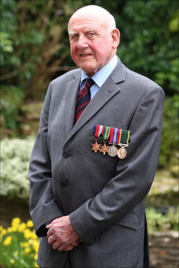 Veteran Robert Hucklesby