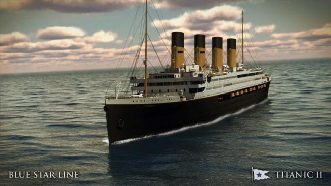 Artist's impression of Titanic II.