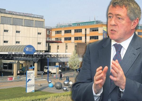 CALL FOR TRANSPARENCY: John Denham MP will write to hospital bosses.