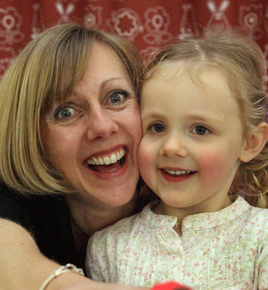 Angry: Deb Banyard and daughter Cora