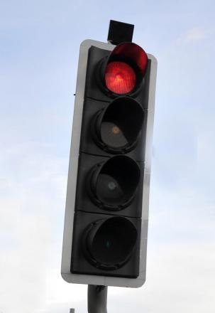 Power cut knocks out traffic lights