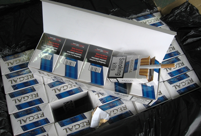 Customs seize 30 million smuggled cigarettes at docks