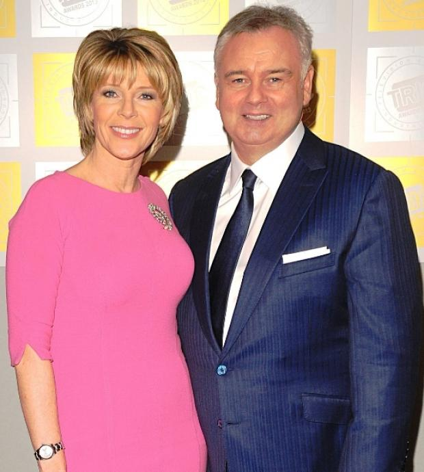 Ruth with partner Eamonn Holmes
