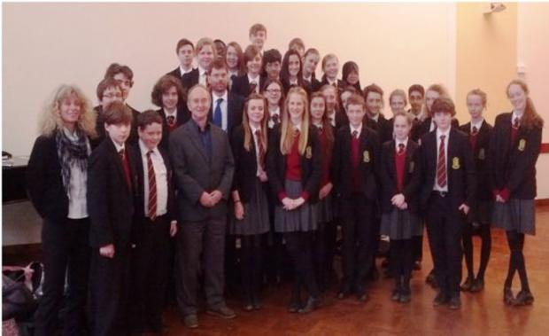 Pupils given insight into holocaust horrors