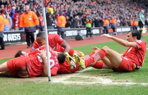 Stunning Saints shock Liverpool