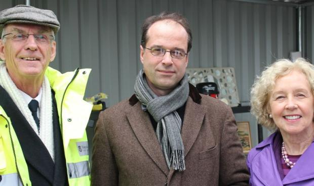 MP praises recycling centre design