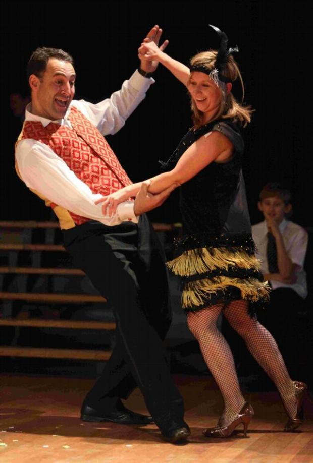 Strictly Comes Dancing comes to Bitterne Park Secondary School