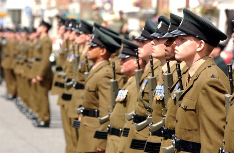 100,000 grant to the Royal Green Jackets Museum in Winchester ...