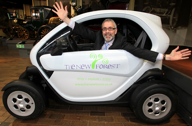 Forest on a charge with fleet of electric hire cars