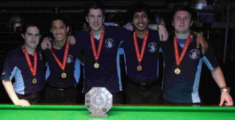 Students crowned snooker champs