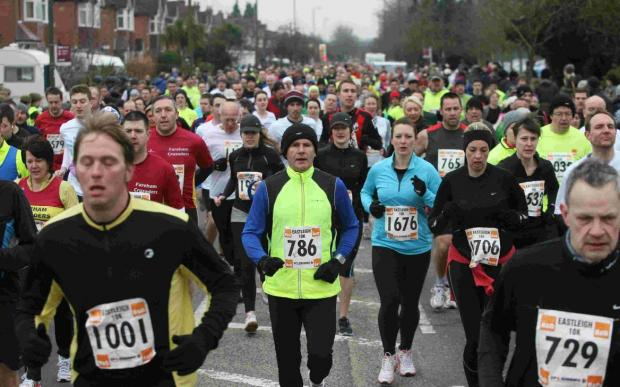 Record entry for B and Q Eastleigh 10k