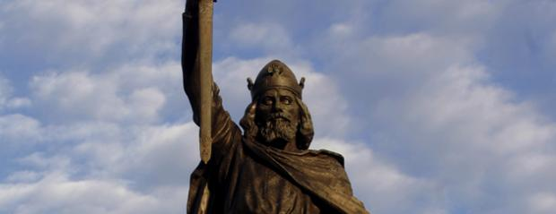 Alfred the Great statut in Winchester