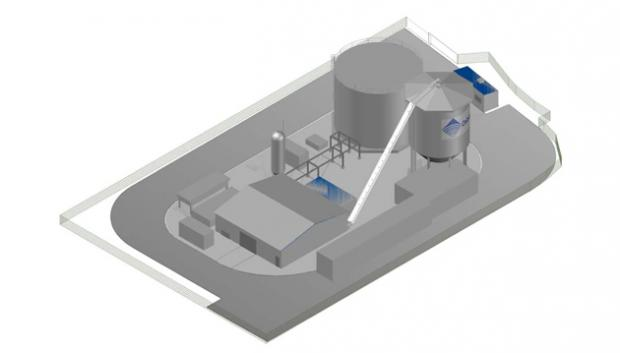Sulphur plant plan for city