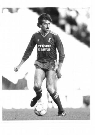 Mark Lawrenson in his playing days