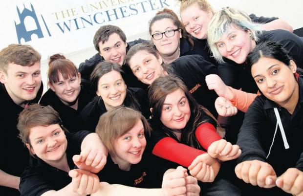 DRAMA STUDENTS: From the University of Winchester