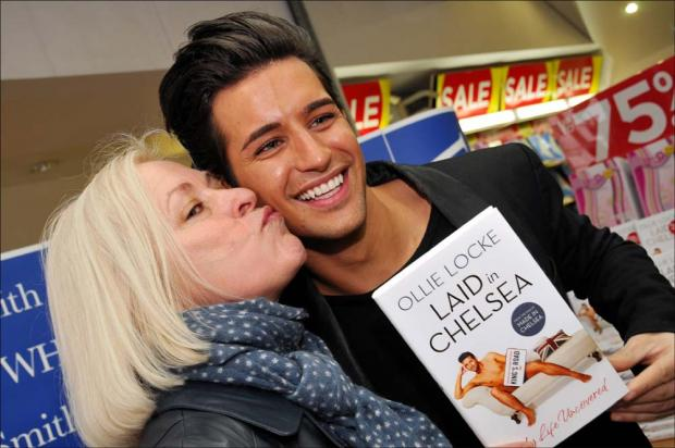 Ollie Locke with his mum Sarah.
