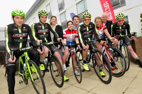 The launch of Winchester CycleFest at the Holiday Inn, Morn Hill.