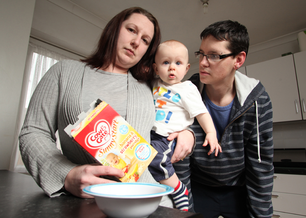 Mum's horror at finding glass in her son's breakfast