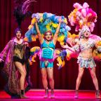 Strutting their stuff in Priscilla Queen of the Desert
