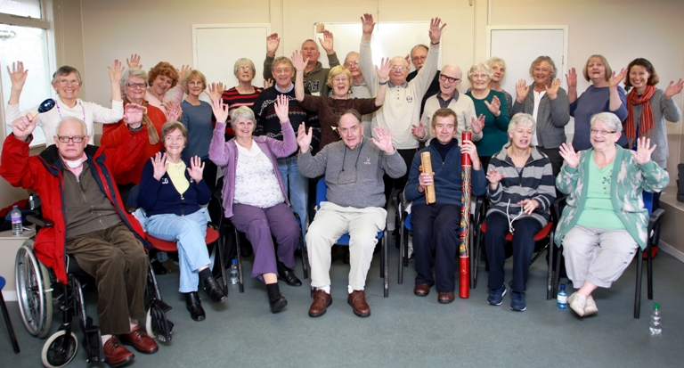 Singing groups new approach to Parkinson's Disease