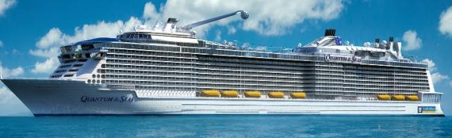 New cruise ship Quantum of the Seas wil include latest entertainment innovations