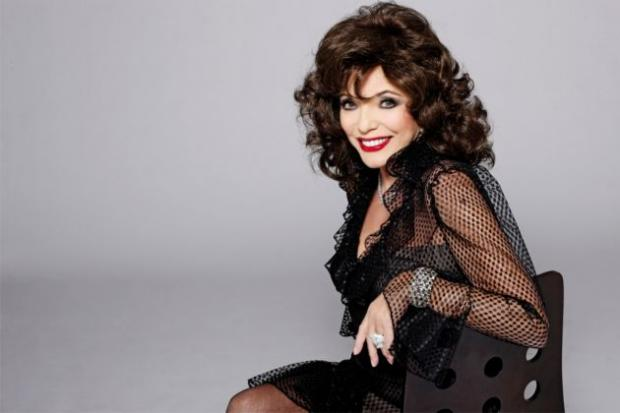 Joan Collins on the secret of her success