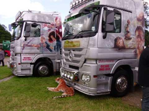 The Truckmania event takes place tomorrow and Monday at Beaulieu