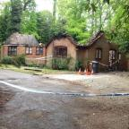 Fire rips through Hampshire home