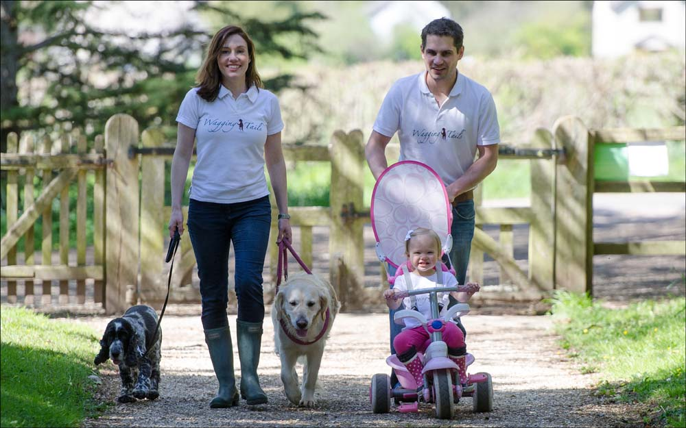 Injured ballerina's dogs inspire new business: tails of the unexpected