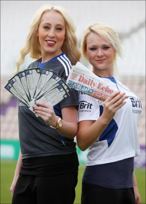 Find these models, give them a copy of the Daily Echo and you could win tickets to the Ageas Bowl! Click here to read more.
