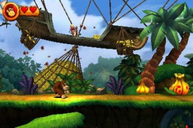 Donkey Kong Country Returns 3DS - Review