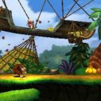 Screenshot from Donkey Kong Country Returns 3DS