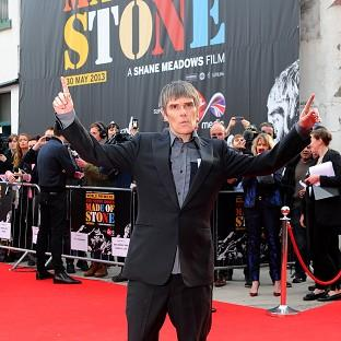 Ian Brown of the Stone Roses was at the premiere of the band's film