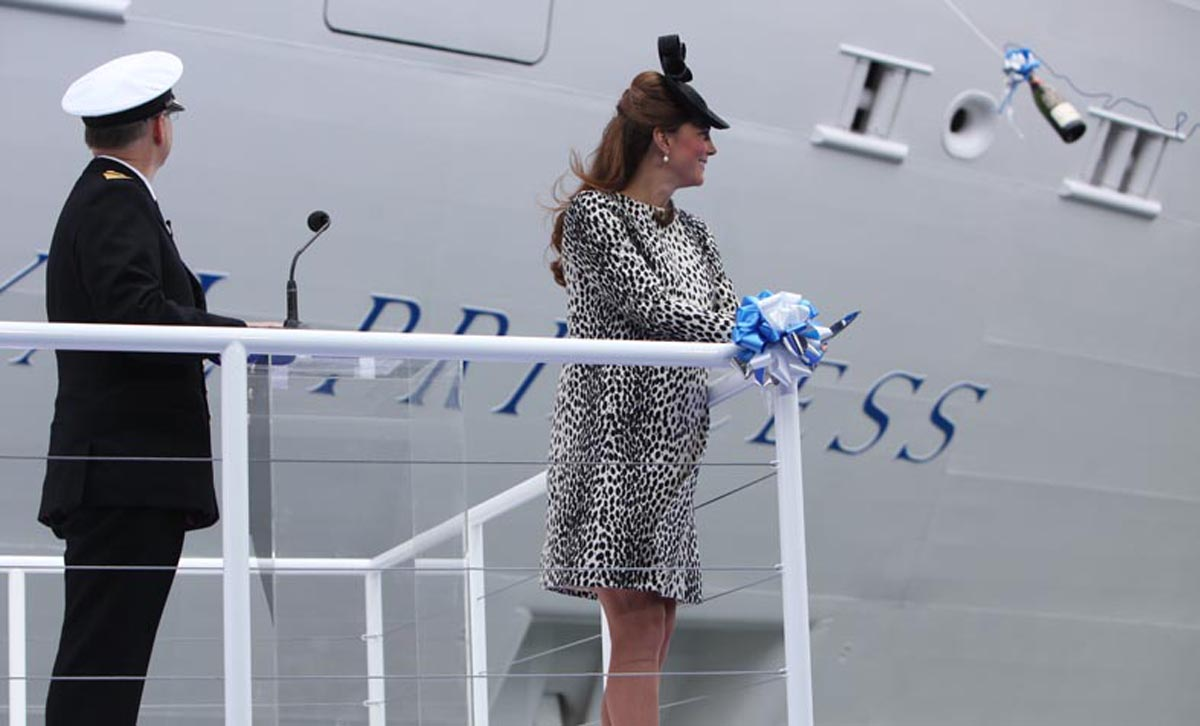 Royal Princess named by Catherine, Duchess of Cambridge