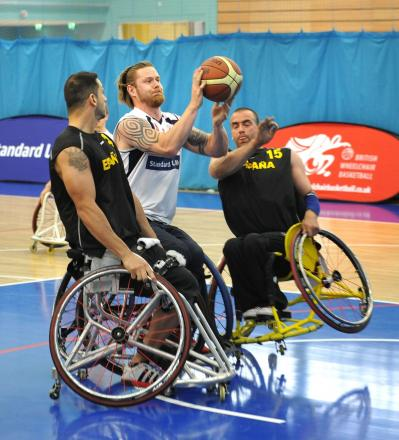 Wheelchair basketball club searches new members