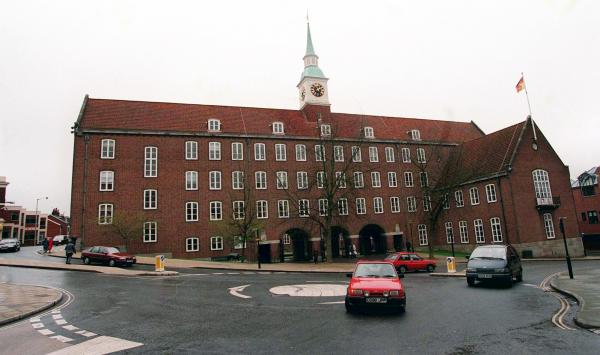 Hampshire County Council offices in Winchester