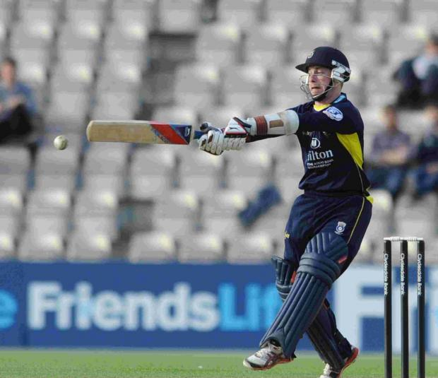 Daily Echo: Adam Wheater is part of Hampshire's strong t20 squad