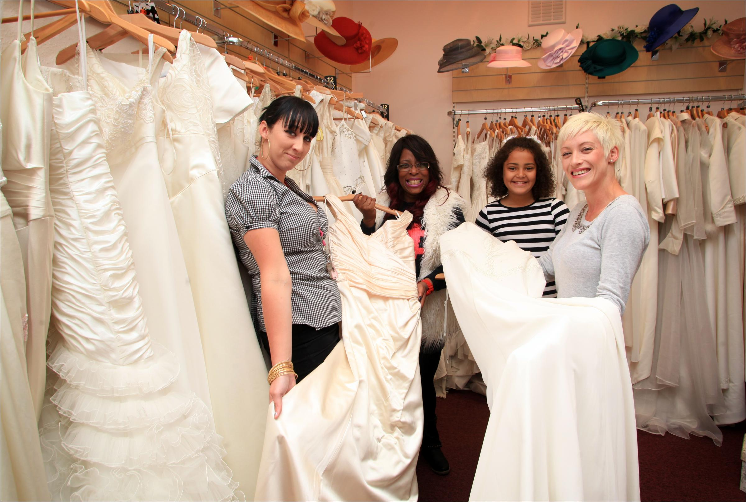 Bridal bargains: the designer wedding dresses at Oxfam | Daily Echo