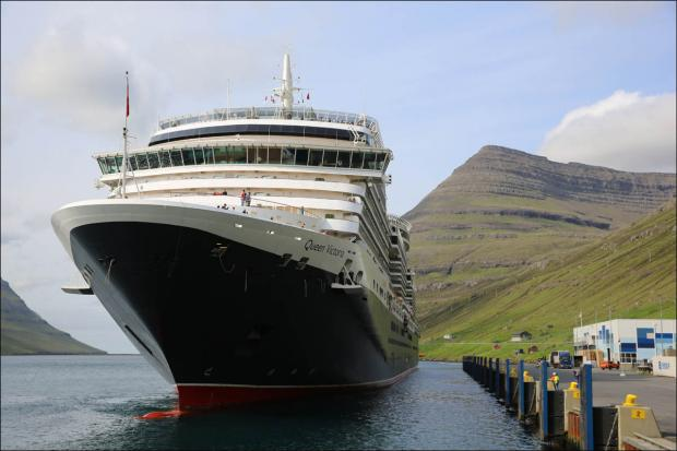 Queen Victoria in the Faroe Isles