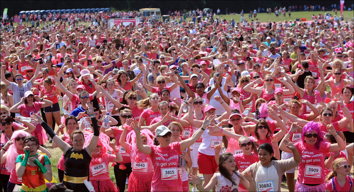 Thousands joined city's Race for Life today