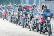 The Ladies of Harley set off.