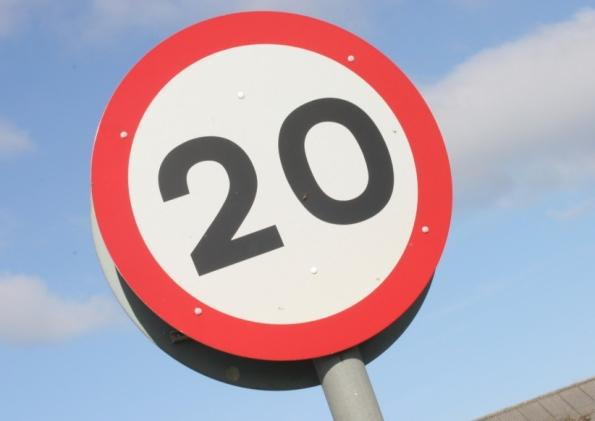 Study shows drivers against 20mph zones