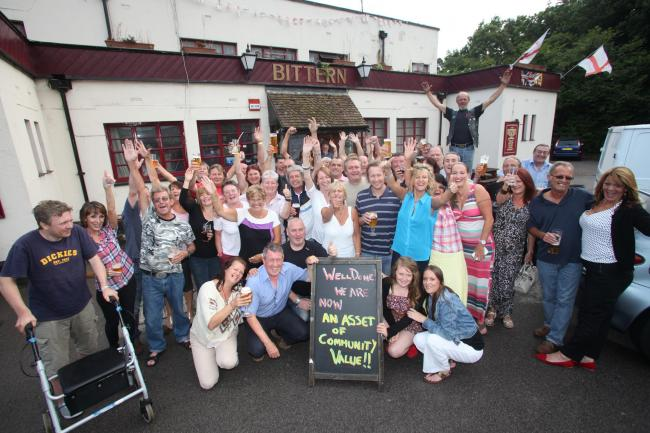 Campaigners have been trying to save the Bittern Pub from becoming a McDonald's