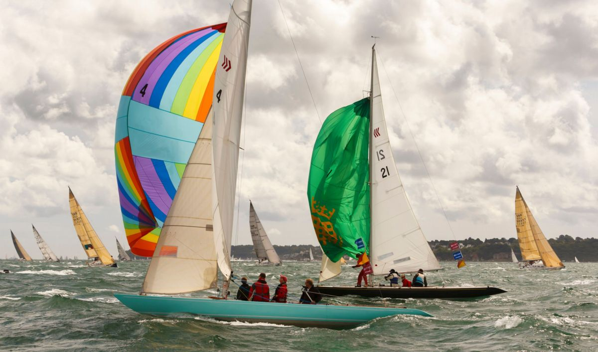 Boats set off during last year's Cowes Week