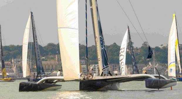 Big guns roll in for Cowes Week highlight