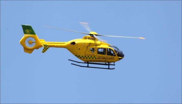 Daily Echo: Air ambulance given all clear to carry blood