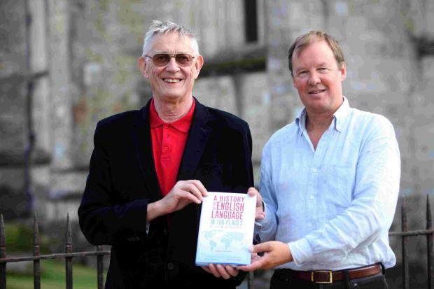 Prof Bill Lucas and Prof Christopher Mulvey have written A History of the English Language in 100 Places.